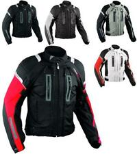 Motorcycle Jacket CE Armored Motorbike Textile Warterproof 4 layer All Sizes