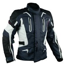 Motorbike Motorcycle CE Armours Warterproof Textile Jacket Thermal Layer Dark
