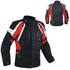 Jacket CE Armored Quality Waterproof Motorbike Motorcycle Thermal Liner Red