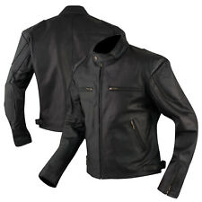 Bikers leather Motorcycle Jacket Motorcycle Cow Hide All Season A-PRO