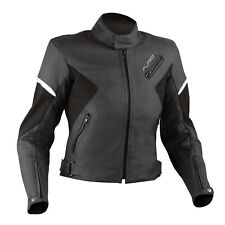 Quality Motorbike Motorcycle CE Armored Ladies Leather Jacket Themal Liner