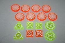Acrylic Tokens.Rebel Booster 1.Compatible with Star Wars X-Wing Miniatures Game