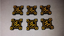 Acrylic Tokens.Extra Munitions. Compatible with Star Wars X-Wing Miniatures Game