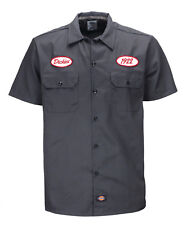 Chemise Dickies SOUS LICENCE Rotonda South charcoal grey (S/M/XL/2XL) homme