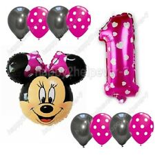 Giant Mickey/ Minnie Mouse Foil Balloons baloon Polka Dot 1st Birthday ballon