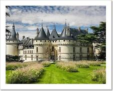 Chaumont Castle In Loire Valley, France Art Print Home Decor Wall Art Poster - D
