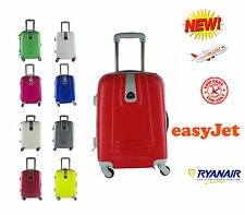 TROLLEY BAGAGLIO A MANO RYANAIR EASYJET VALIGIA CABINA 4 RUOTE LOW COST #