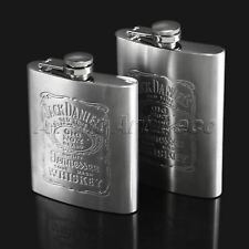 Portable Steel Liquor Hip Flask Gift Whiskey Vodka Alcohol Wine Flagon Bottle