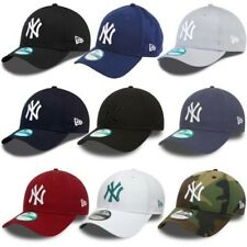 New Era 9FORTY New York Yankees Casquette Réglable - Noir, Bleu, Gris, Rouge