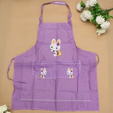Cartoon Apron Rabbit Anti Dirt Kitchen Double Pocket Household Supply Adults