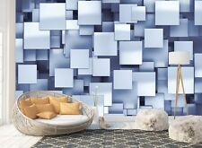Wall Mural Photo Wallpaper Picture EASYINSTALL Fleece Abstract Squares Modern