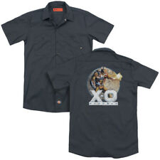 X-O XO Manowar Comic VINTAGE MANOWAR Cover Adult Dickies Work Shirt All Sizes