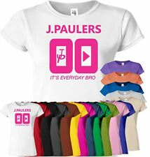 Jake Paul Its Every Day Bro Womens T Shirt Savage Youtuber JPAULERS Top Tshirt