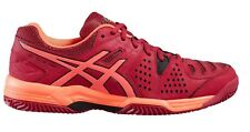 Womens Asics E561Y 2106 Gel Padel Pro 3 SG Shoes Lace Up Cerise Trainers