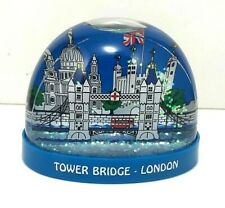 London snow globe, shaker, London Eye, Big Ben, London Red Bus - UK Gift