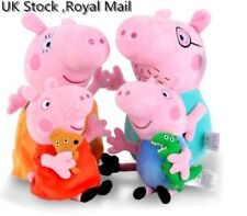 Peppa Pig Stuffed Plush Toys 30cm Peppa George Pig Family Party Dolls for Girl