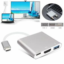Type C USB 3.1 to USB-C 4K HDMI USB 3.0 Adapter 3 in 1 Hub For Apple Macbook LXH
