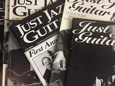 Just Jazz Guitar Magazine, Individual Issues Between Aug 2001 - Feb 2005