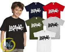 Kids Adult LOGANG T SHIRT jake paul logan logang jp youtuber maverick team Σ