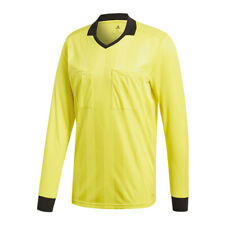 Adidas Referee 18 de manga larga camiseta Amarillo
