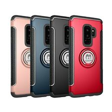 Mosafe® For Samsung Galaxy S9/S8/Plus/Note 8 Ring Holder Shockproof Case Cover