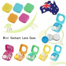 Plastic Mini Contact Lens Case Outdoor Travel Contact Lens Holder Container A#g