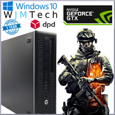 HP ProDesk 600 G1 i3-4130 3.4GHz Desktop Gaming PC PC Computer Windows 10 16GB