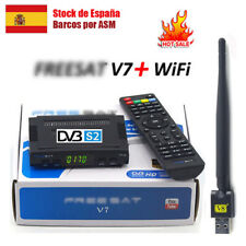 FTA Genuine V7 HD DVB-S2 Satellite Receiver + USB Wifi Full HD 1080P Media Playe