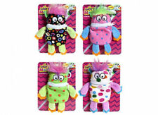 """5.5"""" Mini Little Worry Monster Clip On Plush Soft Toy Eats Notes Nightmares"""