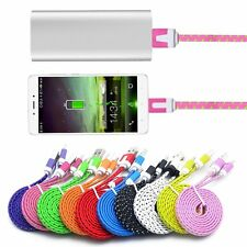 3M Nylon Braided USB 3.1 Type-C Charger Cable Data Sync Cord For Nexus 5X/6P #P