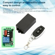 Single Way Remote Control Switch DC 220V Receiver Module with Remote Control VP