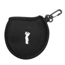 mini borsa da golf in neoprene multiuso custodia da 2 palline da te