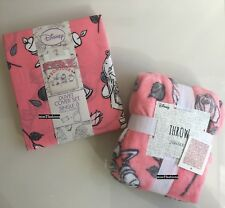 Primark Beauty And The Beast Single Bed Duvet Cover Set AND Throw Mrs Potts Chip