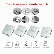 Wireless touch wall switch 3/2/1Gang 3/2/1Way Smart Home Light remote control SF