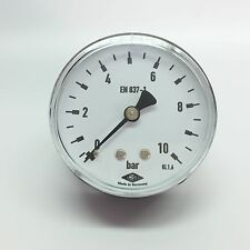 "Manometer Ø63mm  G1/4"" hinten,  - alle Messbereiche - EMPEO - Made in Germany"