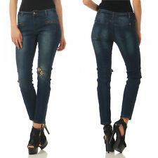 A. C. . by Heine SkinnyJeans BLU Pantaloni Donna 188-742 Jeans Paillettes Nuovo