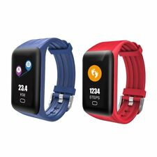 DC28 Plus Smart Fitness Bracelet Heart Rate&Blood Pressure Monitor Wristband SY