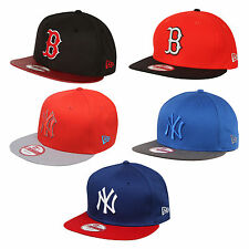NEW ERA CAPPELLO 9Fifty Snapback 950 NY Yankees Boston Sox MLB CON VISIERA NUOVO