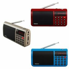 Rolton T50 FM Radio Portable World Band Radio FM/AM/SW Radio MP3 Speaker CMY
