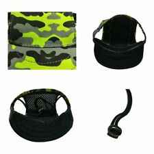 Camouflage Dog Caps Breathable Mesh Pet Dog Hats Outdoor Sports Sun Hat@YT