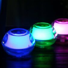 Crystal Air Humidifier With LED Night Light USB Home Humidifier Air Freshener@YT
