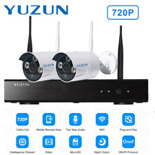 720p HD Wireless IP Camera Security Video Surveillance 2CH WIFI NVR System LO@YT