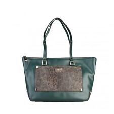 Cavalli Class Borsa donna shopping Bag Shopper Moda Sportiva Verde 60645 BDX