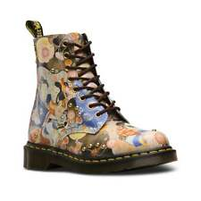 Dr Martens Pascal Eastern Art Womens Leather Ankle Boots - Multi Print