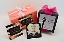Wedding Gift Boxes for My Bride / Wife-To-Be - Simply Fill them Yourself