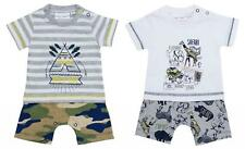 Boys Playsuit Romper Outfit Safari Wild Sun Teepee Newborn Baby to 6 Months