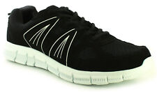 New Mens/Gents Black Tie Ups Sports Shoes/Trainers UK Size