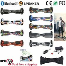 """Hoverboard 6.5"""" Speaker Balance Luci LED Overboard Monopattino Scooter 13colore^"""