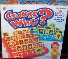 GUESS WHO? THE ORIGINAL MYSTERY FACE GUESSING GAME