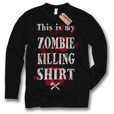 Longsleeve This is my zombie killing MAGLIA - Maglietta Divertente